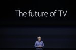 SAN FRANCISCO, CA - SEPTEMBER 9: Apple CEO Tim Cook introduces the New Apple TV during a Special Event at Bill Graham Civic Auditorium September 9, 2015 in San Francisco, California. Apple Inc. is expected to unveil latest iterations of its smart phone, forecasted to be the 6S and 6S Plus. The tech giant is also rumored to be planning to announce an update to its Apple TV set-top box. (Photo by Stephen Lam/ Getty Images)