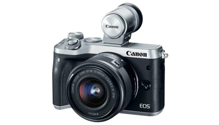 真正輕巧 Canon 發表 EOS M6