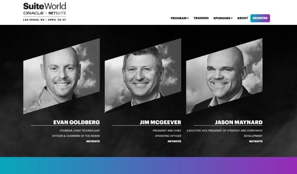 在大會的網站上,只見 CTO、COO 及 VP,未見 CEO Zach Nelson 的出現。