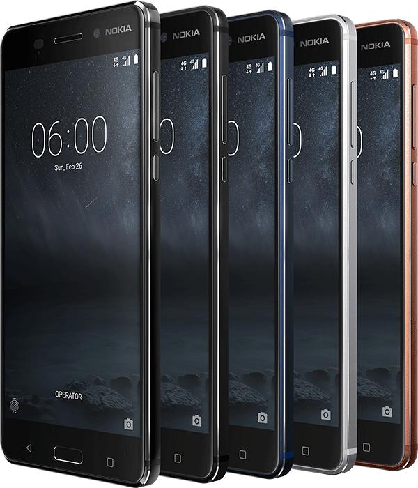 「大佬」Nokia 6國際版本,規格同國內版大同小異,但多出使用鋼琴黑機背的限量版,而這個限量版本會配備 4GB RAM 及 64GB ROM。