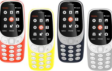【MWC 2017】Nokia 3310 重生有華麗版「貪食蛇」