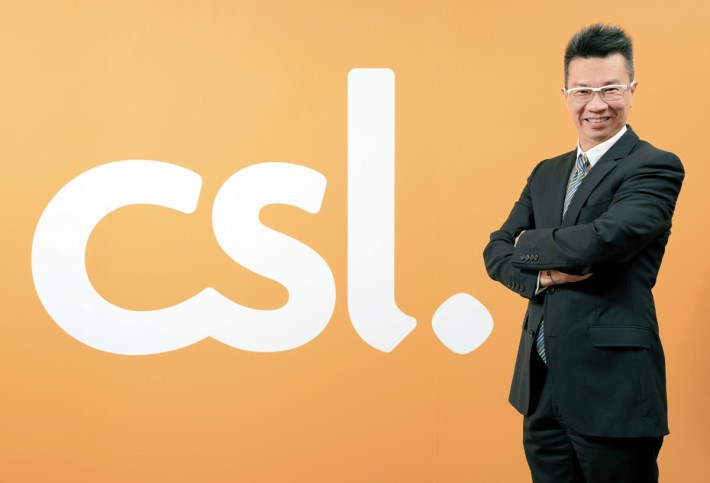 CSL Mobile 市場營銷總裁暨 The Club 行政總裁林國誠。