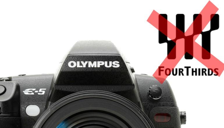 Olympus 終止開發 4/3 系統