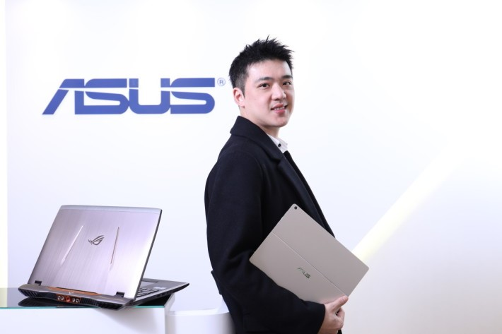 ASUS 業務發展經理陳青禾。