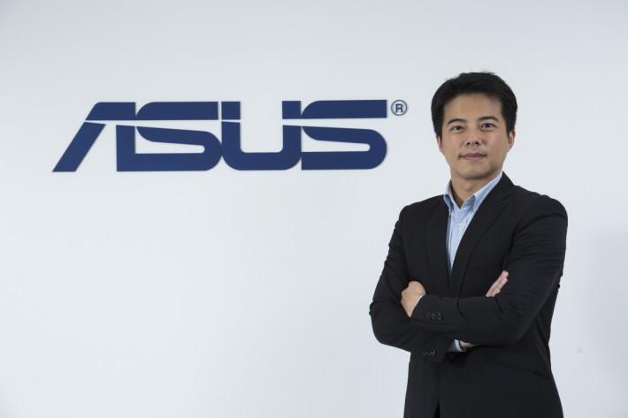 ASUS 業務副總經理黃立中。