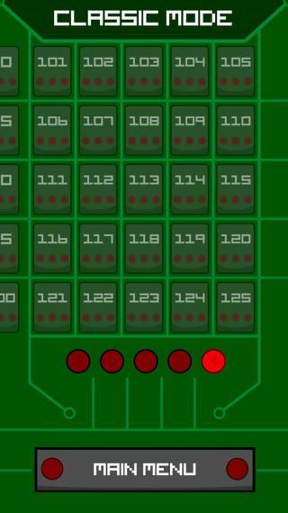 單單於經典模式已有125個關 卡,難度漸漸提升。