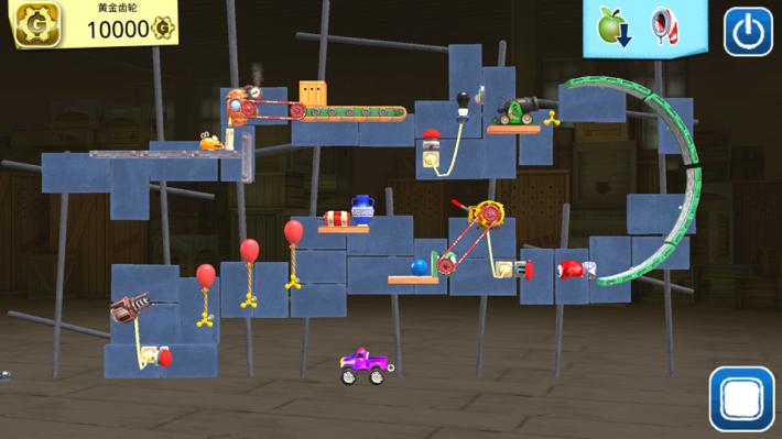 遊戲目標是把車輛駕到正確地點。