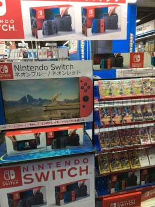 Switch 在日本可以算是「任買唔嬲」