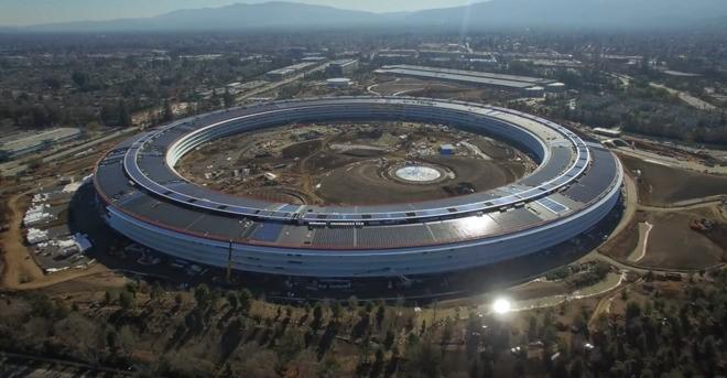 蘋果的新總部會會全面使用再生能源為主要供電系統。