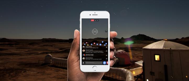 Facebook 今天起對所有用戶開放 360 直播功能
