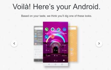 Google AI 幫你設計 Android 手機桌面