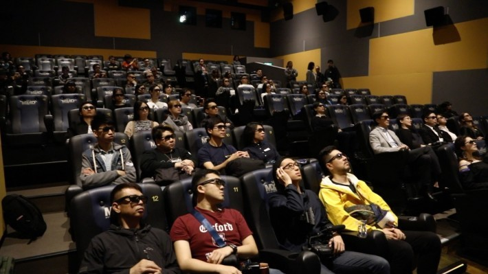 MX4D 影院提供 119 個坐位。