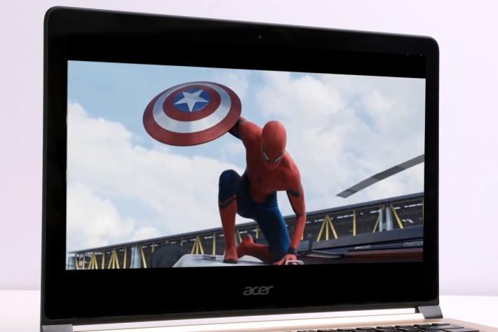 屏幕加入Corning Gorilla玻璃,既可強化保護,畫質亦更見亮麗。
