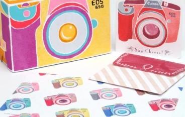 Canon EOS 30週年 推出紙品小手工