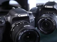 24MP 雙像素對焦 Canon 77D、800D 定位不同