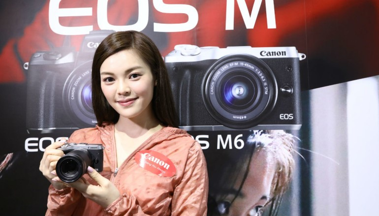真輕・快無反 Canon EOS M6 速玩