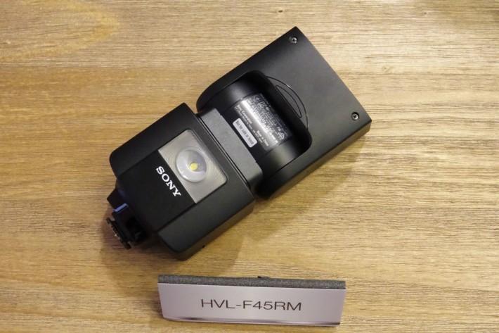 HVL-F45RM 能在 30 米內用作無線電閃燈及無線接收器。