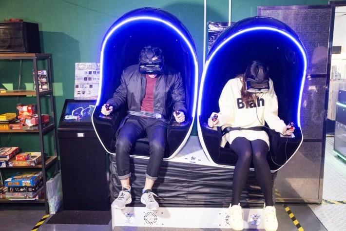 4D VR Chair,讓用家可以不同方式去感受不一樣的 VR 體驗。