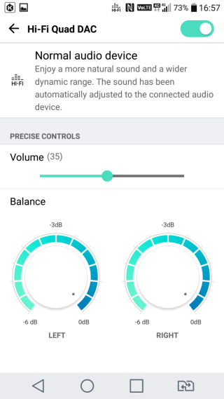 內置 32-bit Hi-Fi Quad DAC,支援 20 多種無損音樂格式及 Hi-Fi 錄音。