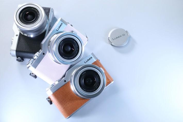 GF9 備有橙配銀、淺粉紅配銀、銀黑及整部黑色的機身選擇。