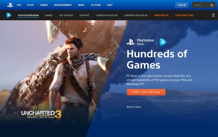 現時有約 480 款 PS3 遊戲可以透過 PlayStation Now 服務串流到 PC 上遊玩。