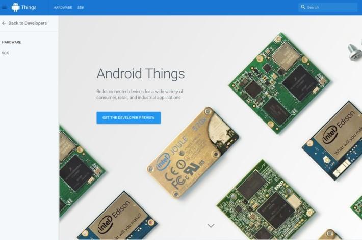 Android Things 是備受注目的物聯網作業系統