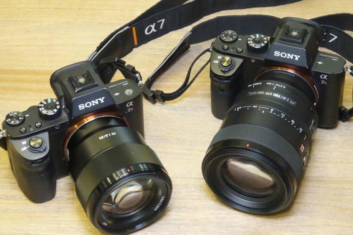 兩支鏡的焦距相差不遠,體積及鏡頭級數卻相差很多。