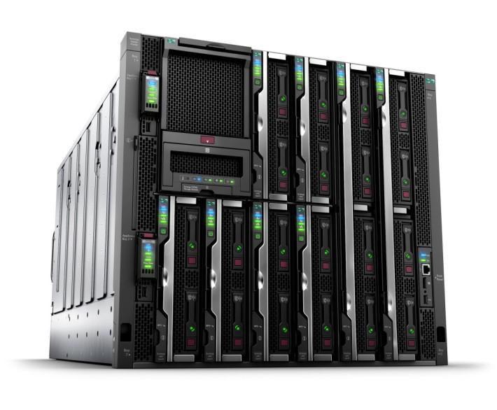 組合型基礎架構是大趨勢,HPE Synergy 系列引入效能極高的 Gen 9 伺服器以提升運算表現。