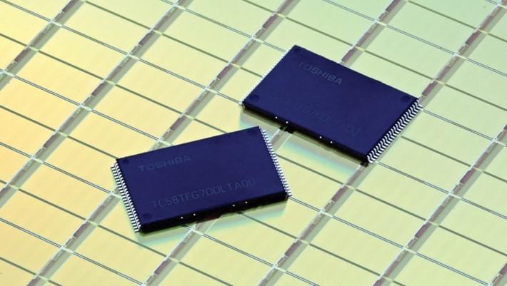 東芝的半導體技術在全球有著領導的地位。