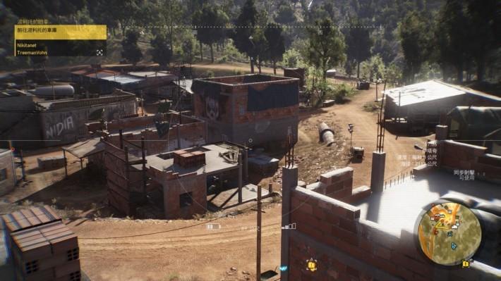 玩家可利用無人機,快速鎖定據點內的敵人,也可以進行地勢偵測。