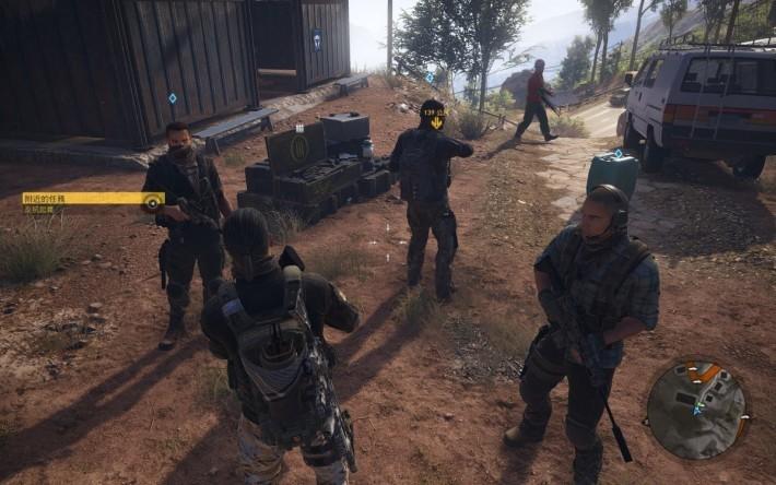 單人模式時會有 3 名 AI 隊友,可以提供火力及射擊支援,不過作戰能力要視乎玩家的引導與指揮。