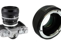 中一光學推轉接環 Lens Turbo II N/G-FX 富士 X Mount 用得他廠單反鏡啦