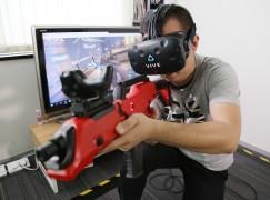 「臨場感大提升!」馬田試玩 HTC VIVE 新配件