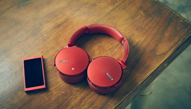 Sony 全新 EXTRA BASS 系列耳機