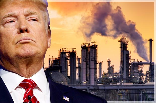 美國總統特朗普一直反對有關全球暖化的說法。