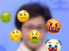 新版本 emoji 有得講粗口 ??