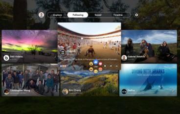 Facebook 新 app 專門支援 VR 睇相睇片