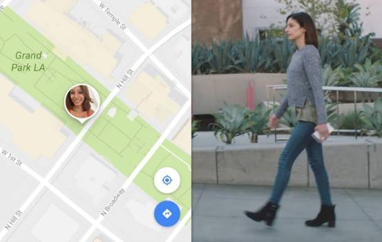 一 Check 就知朋友喺邊 Google Map 分享實時地理資料