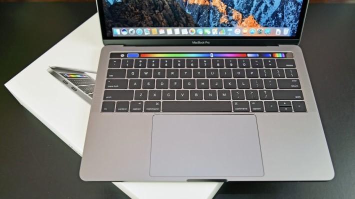 配備 Touch Bar 的 MacBook Pro 已經成為蘋果的主打。