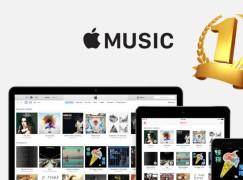 Apple Music 用戶達 4,000萬 成串流音樂之冠