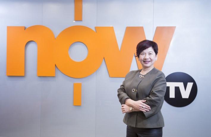 電訊盈科媒體有限公司收費電視首席副總裁譚樂琼