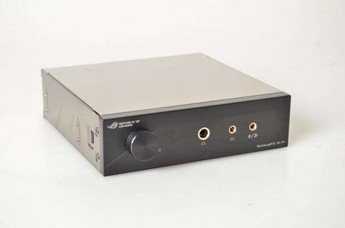 SupremeFX Hi-Fi 前置面板將音效質素提升至更高水平。