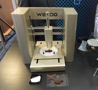 中立包裝推出的「智能 3D 食物打印機」將 在春電展展出。
