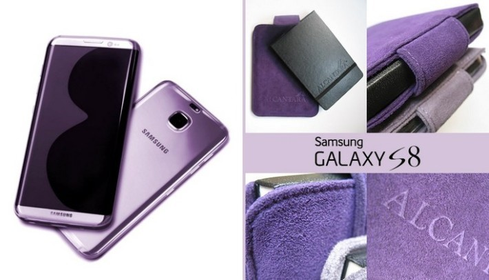 迷人的紫羅蘭色 S8