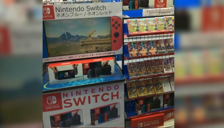 Switch 開賣兩極化 日本無人搶 VS 香港「爭崩頭」
