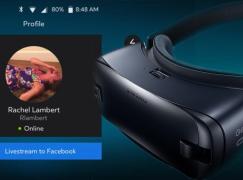 Samsung Gear VR 將支援 Facebook 直播 VR 遊戲