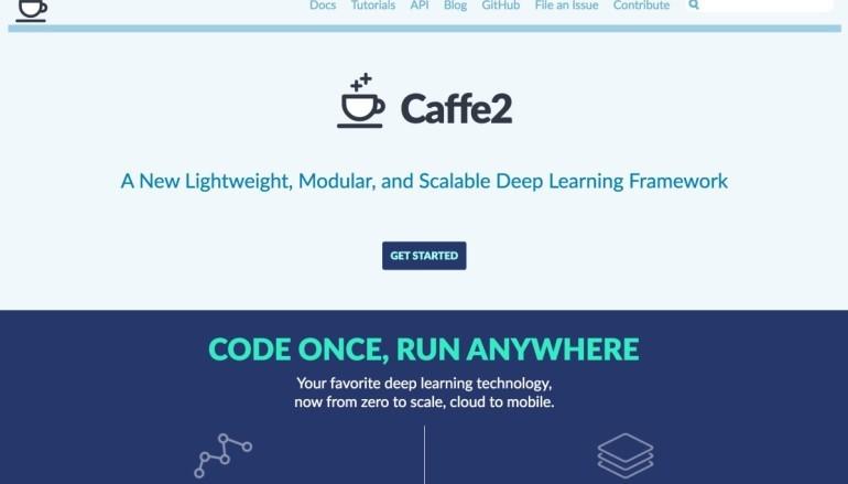 【 Facebook F8 】 Facebook 開放手機用人工人智能架構 caffe2