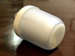 日本 Muji 推出藍芽喇叭燈膽