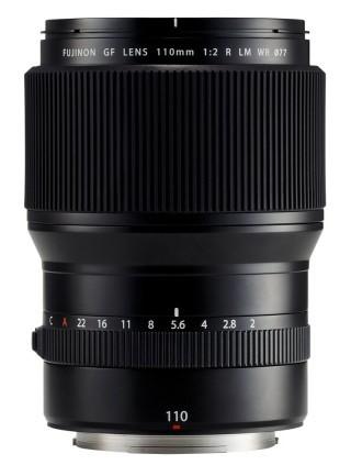Fujifilm 中片幅 GF110mmF2 R LM WR 中焦距定焦鏡,相當於 35mm 規格的 87mm。