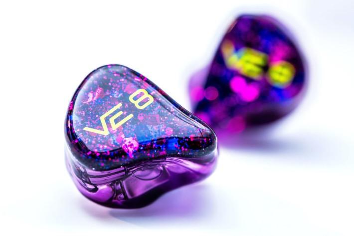 紫色的主調有一份精緻的感覺